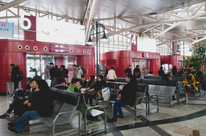 Express Bus Terminal by Meagan Mastriani